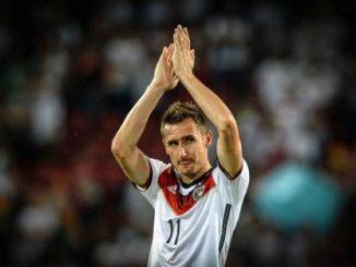 Miroslav Klose. Image Credit : EPA