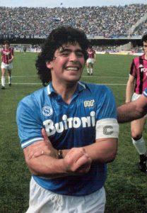 Diego Maradona di Napoli
