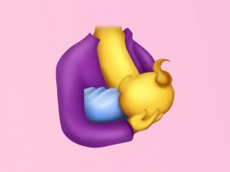 emoji ibu menyusui