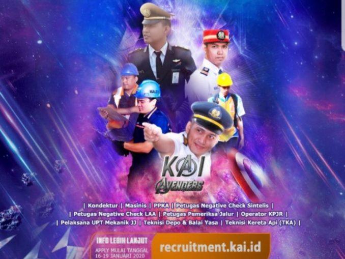 Rekrutmen PT KAI 2020