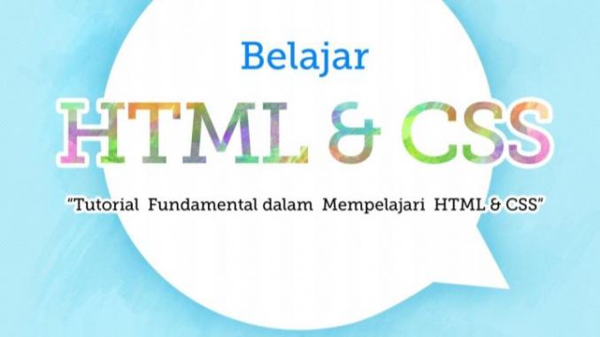 Belajar HTML dan CSS