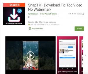 Snaptik Apps
