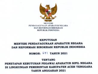 Aceh Tenggara 2021