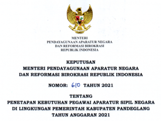 CPNS Kabupaten Pandeglang 2021