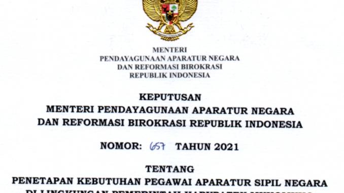 CPNS Kabupaten Mukomuko 2021