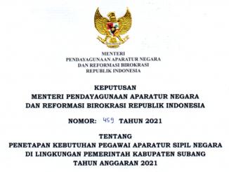 CPNS Kabupaten Subang 2021