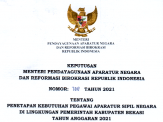 CPNS Kabupaten Bekasi 2021