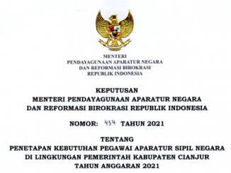 CPNS Kabupaten Cianjur 2021