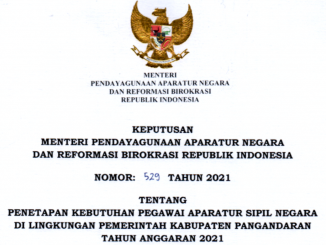 CPNS 2021 Kabupaten Pangandaran