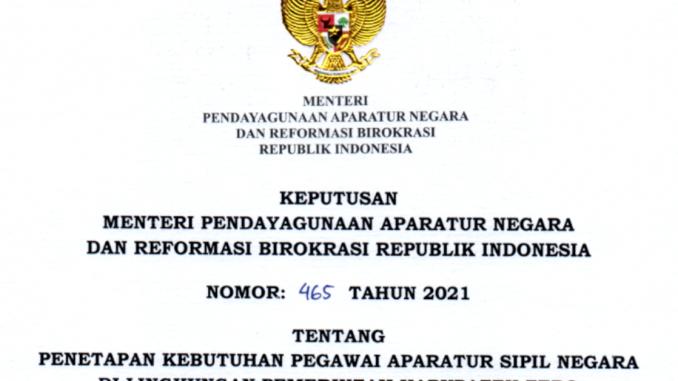 CPNS 2021 Kabupaten Tebo