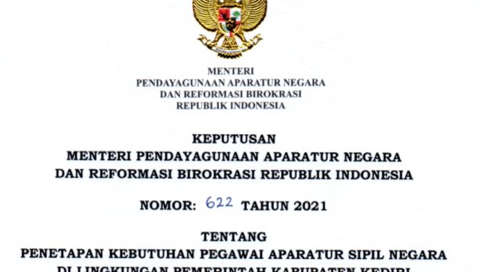 CPNS 2021 Kabupaten Kediri