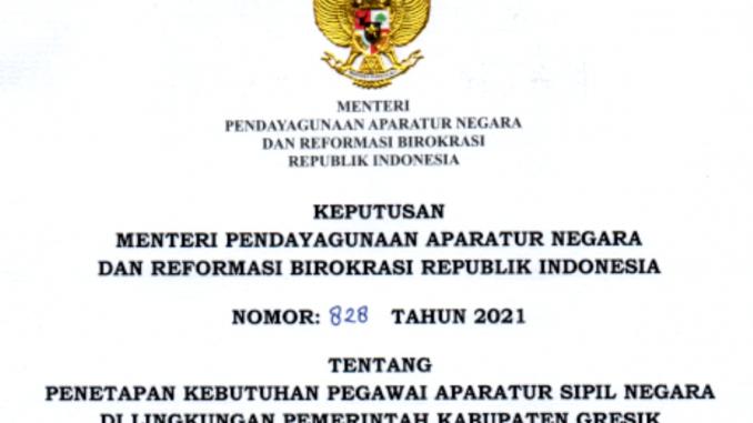 CPNS 2021 Kabupaten Gresik