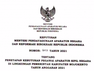 CPNS 2021 Kabupaten Mojokerto