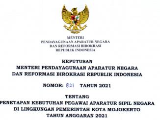 CPNS Kota Mojokerto 2021