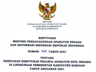 CPNS 2021 Kabupaten Sanggau