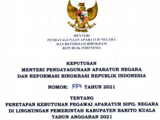 CPNS 2021 Kabupaten Barito Kuala