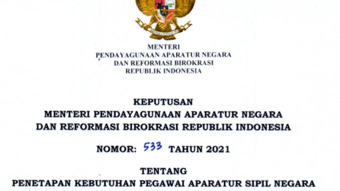 CPNS 2021 Kabupaten Tanah Laut