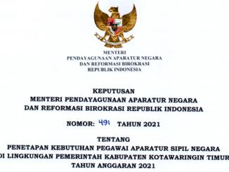 CPNS 2021 Kabupaten Kotawaringin Timur