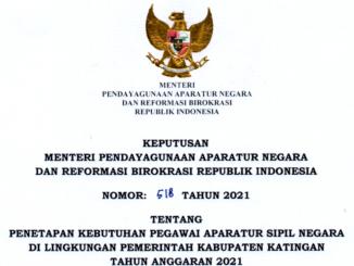 CPNS 2021 Kabupaten Katingan