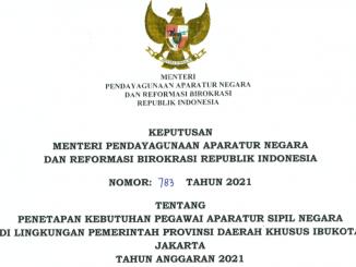 CPNS 2021 Provinsi DKI Jakarta