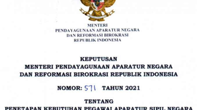 CPNS 2021 Kota Mataram