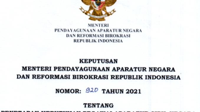 CPNS 2021 Kabupaten Tojo Una Una