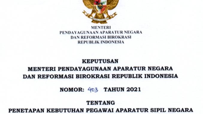CPNS 2021 Kabupaten Dharmasraya