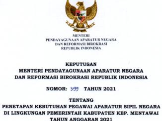 CPNS 2021 Kabupaten Kepulauan Mentawai