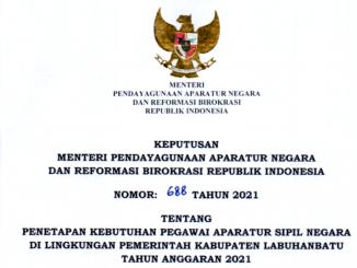 CPNS 2021 Kabupaten Labuhanbatu