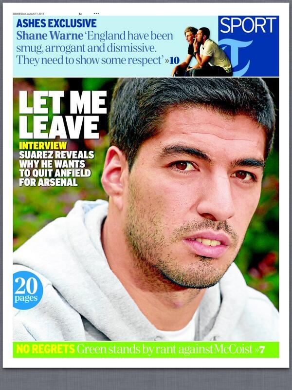 Luis Suarez Want To Leave