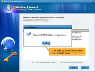 Tenorshare Windows Password Recovery