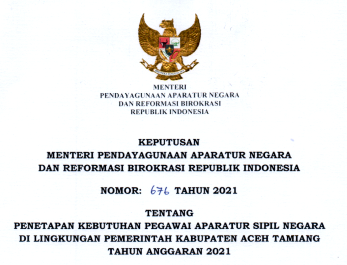 Aceh Tamiang 2021