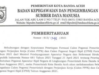 Banda Aceh 2021