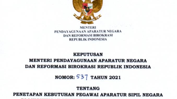 CPNS Jembrana 2021