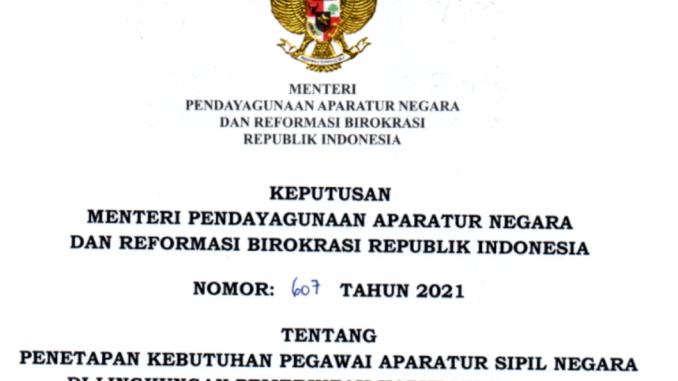 CPNS Kabupaten Serang 2021