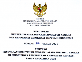CPNS 2021 Kabupaten Pacitan