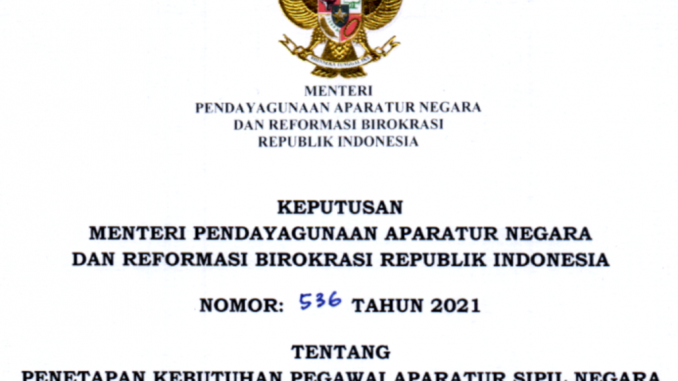 CPNS 2021 Kabupaten Tapin