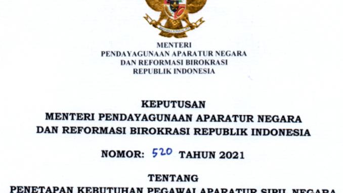 CPNS 2021 Kabupaten Seruyan
