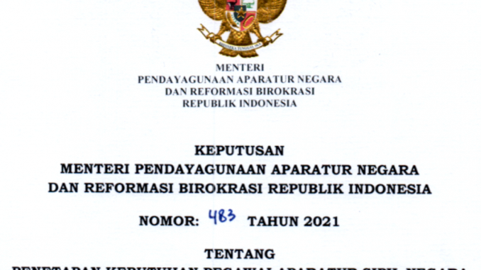 CPNS 2021 Kabpaten Barito Utara