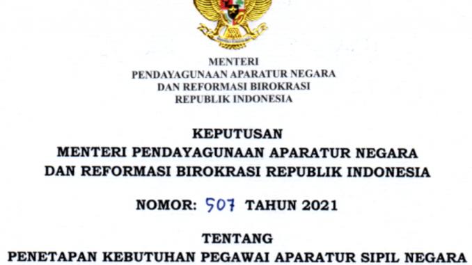 CPNS 2021 Kabupaten Kolaka