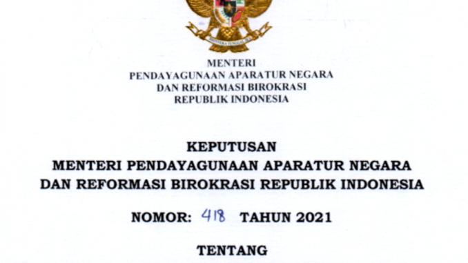 CPNS 2021 Kabupaten Tolitoli