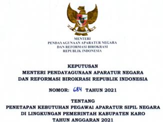CPNS 2021 Kabupaten Karo