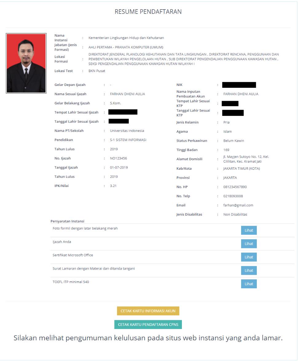 Cara Upload Dokumen CPNS SSCASN