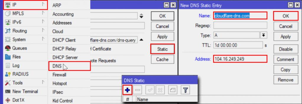 DNS Static